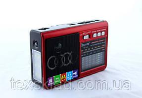 Радиоприёмник Golon RX-1315 с фонариком (USB/Аккумулятор/FM)