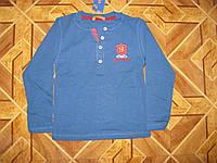 Детский батник для мальчика 110-128см  хлопок- пенье  Турция