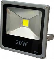 Прожектор LED-SLe- 20W 220В 1600lm 6500K угол 120 Slim Elite 220тм