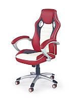 Кресло MALIBU czerwono-kremowy