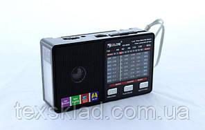 Радиоприёмник Golon RX-8866 с фонариком (USB/Аккумулятор/FM)