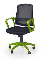 Кресло ASCOT czarno-zielony