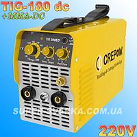 Аргоновая сварка CrepoW TIG-180ED