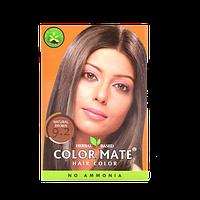 """Натуральная краска для волос Color Mate hair color от ТМ """"Henna Industries , цвет  Natural Brown  (9.2)"""