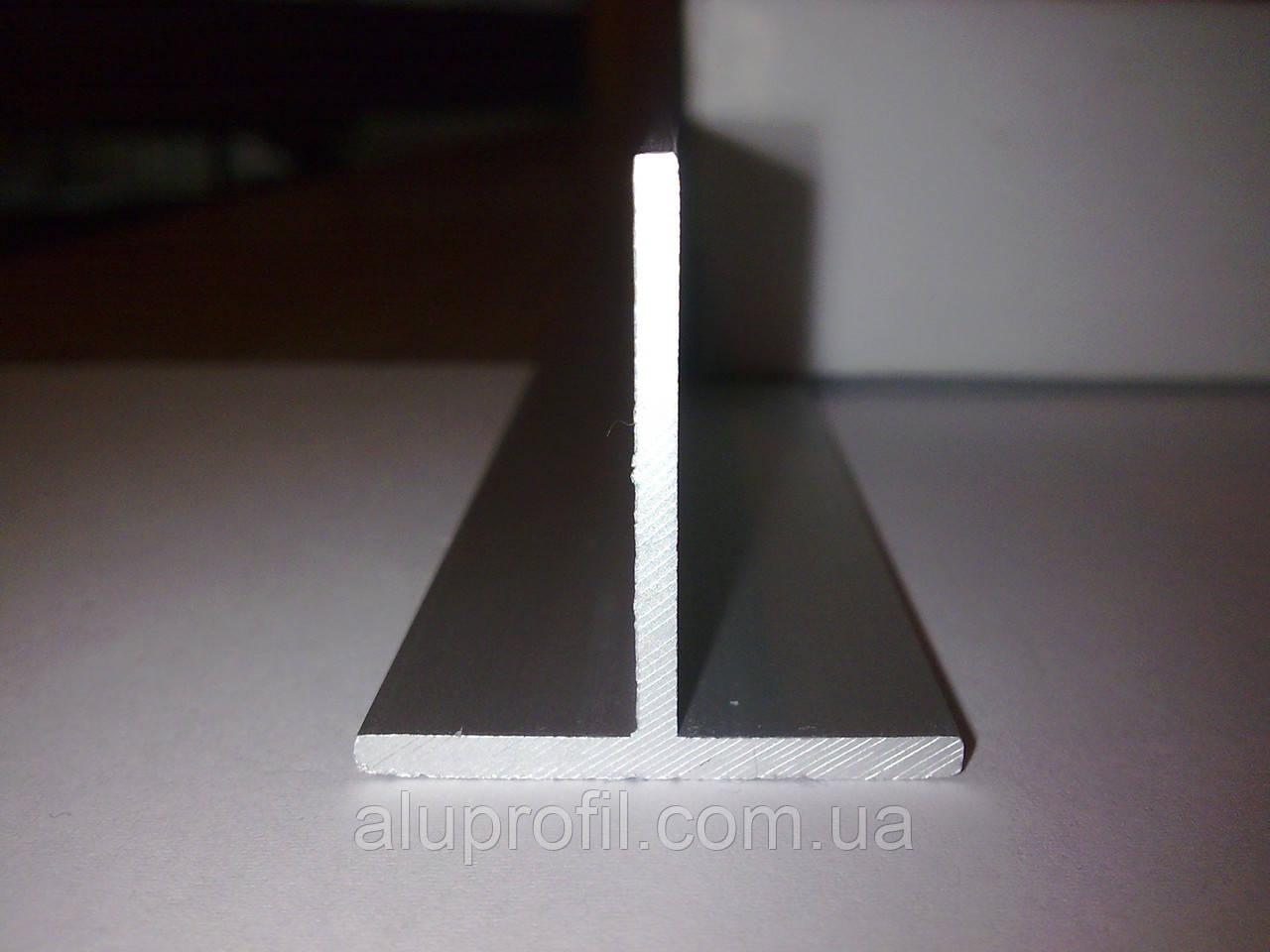Алюминиевый профиль — тавр алюминиевый 30х30х2, фото 1