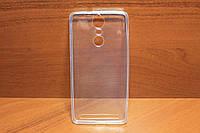 Силиконовый чехол накладка для Lenovo A7020 / Vibe K5 Note прозрачный