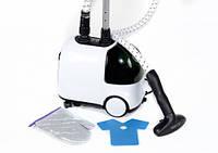 Ручной отпариватель для одежды Astor GS-1312 White/black, пароотпариватель, ручной отпариватель парогенератор