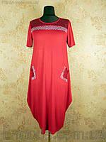 Платье весна лето с карманами