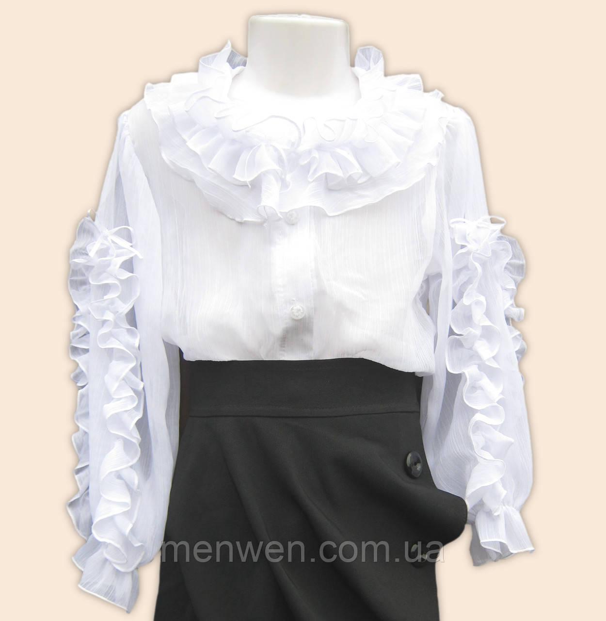 a4e147b5820 Школьная блузка для девочки  продажа