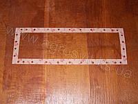 Прокладка бачка радиатора МТЗ-1221 (верхняя/нижняя), 5-и рядного бачка (кожкартон)