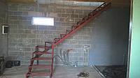 Каркас для лестницы на второй этаж
