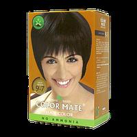 """Натуральная краска для волос Color Mate hair color от ТМ """"Henna Industries , цвет Light Brow  (9.7)"""