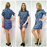 Джинсовое женское платье у-t55032668