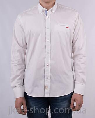 Рубашка с длинным рукавом мужская Zen-Zen ZEN-ZEN 23209 BEYAZ