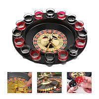 Прикольная игра Алко-игра Рулетка на 16 рюмак (пьяная Рулетка), фото 1