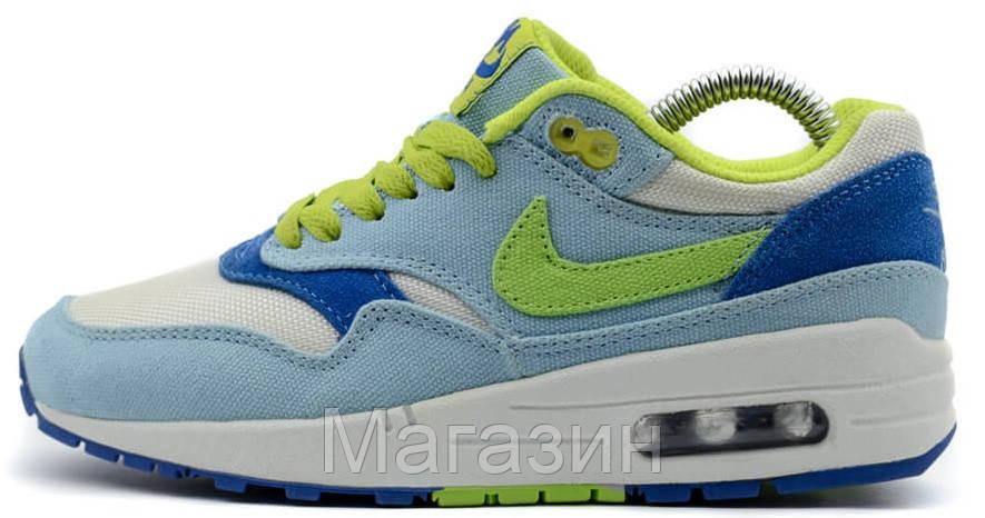 e6a03bcfce36 Женские кроссовки Nike Air Max 87 (Найк Аир Макс 87) мятные белые. В наличии