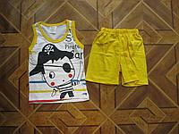 Детские летние костюмы Пират  для мальчиков 1 год  Турция хлопок-пенье