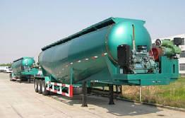 Напівпричіп цистерни для сипких вантажів