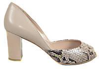 Туфли женские на каблуке Polann красивые и очень удобные
