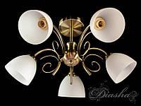 Недорагая классическая люстра на 5 ламп D5739-5