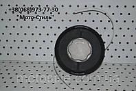 Косильная головка (Шпуля) (полуавтомат.диск) усиленная для мотокосы, фото 1