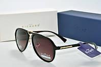 Солнцезащитные очки Thom Richard коричневые с черным, фото 1