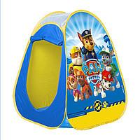 Детская игровая палатка игровой домик Щенячий патруль JohnToys 71044