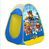 Детская игровая палатка игровой домик Щенячий патруль JohnToys 71044, фото 1