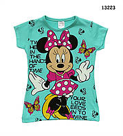 Футболка Minnie Mouse для девочки. 1-2 года, фото 1