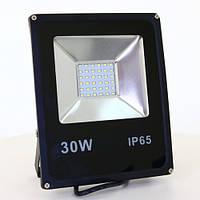 Светодиодный прожектор Slim 30w IP65 (3300 Lum)