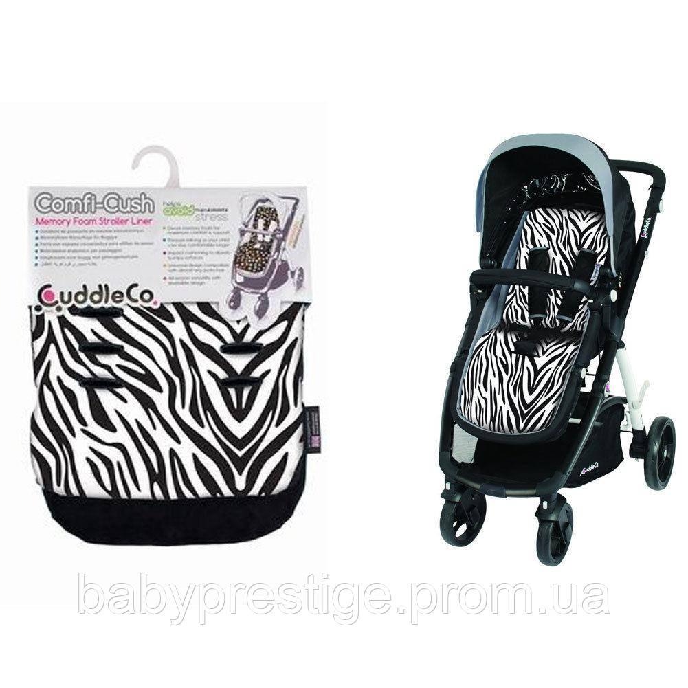 Вкладыш в коляску Cuddle Co Comfi - Cush, цвет Zebra
