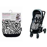 Вкладыш в коляску Cuddle Co Comfi - Cush, цвет Zebra, фото 1