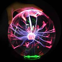 "Шар с молниями Plasma Ball 14 см ""6"", фото 1"