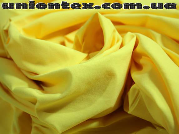 Ткань бенгалин желтый, фото 2