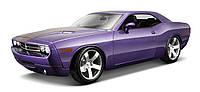 Автомодель 1:18 Dodge Challenger Concept 2006 фиолетовый металлик MAISTO (36138 met. purple)