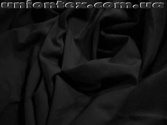 Ткань бенгалин черный, фото 2
