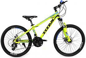 Підлітковий велосипед Titan Flash 24 дюйма