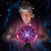 Плазменный шар — Plasma ball 7″, тончайшее качество, убедитесь сами в этом, фото 1