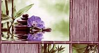 Обои влагостойкие мойка Шарм Азия 108-05 с сиреневым цветком