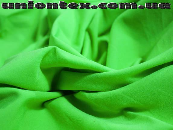 Ткань бенгалин салатовый, фото 2