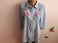 Рубашка туника в полоску Ф 01