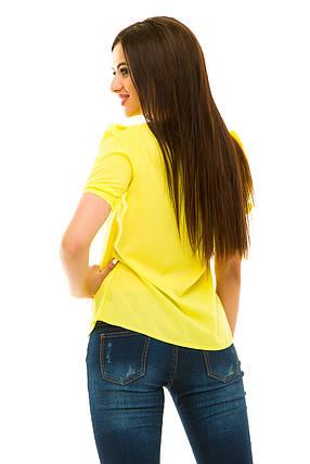 Блузка 239 желтая, фото 2