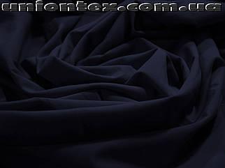 Ткань бенгалин темно- синий