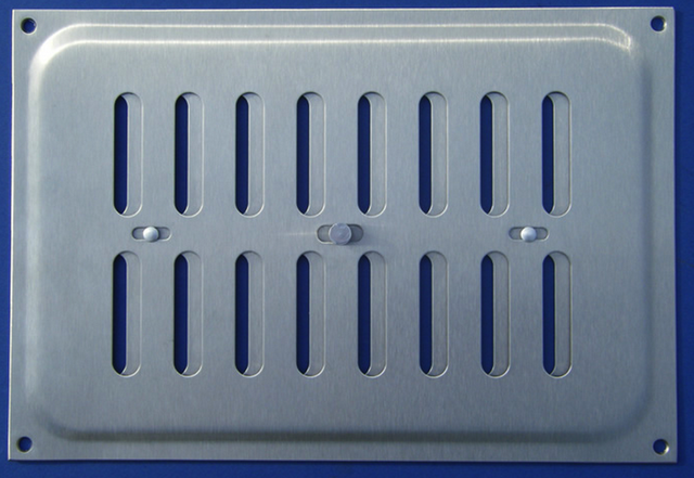 Вентиляционные решетки из алюминия и нержавеющей стали (нержавейки)