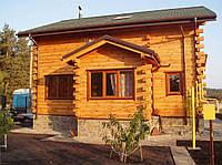 Дома и домокомплекты из профилированного бруса. Украина и экспорт.