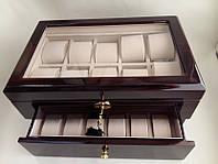 Деревянная шкатулка для часов Salvadore 80416EC на 16 отделений