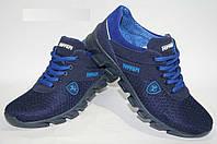 Подростковые летние кроссовки Ferrari синего цвета