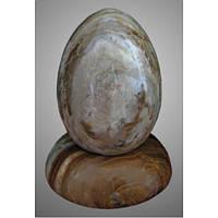 Яйцо пасхальное на подставке, оникс, Н5х7 см, Пасхальные подарки и украшения, Днепропетровск