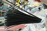 Термоусадочная трубка,размер 1,0/0,5мм,цвет чёрный,длина 1метр
