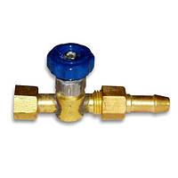 Вентиль кислорода К/М16/d-9 мм Донмет
